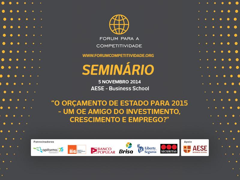 SLIDE DE PAUSA_SEMINARIO AESE 5 NOVEMBRO